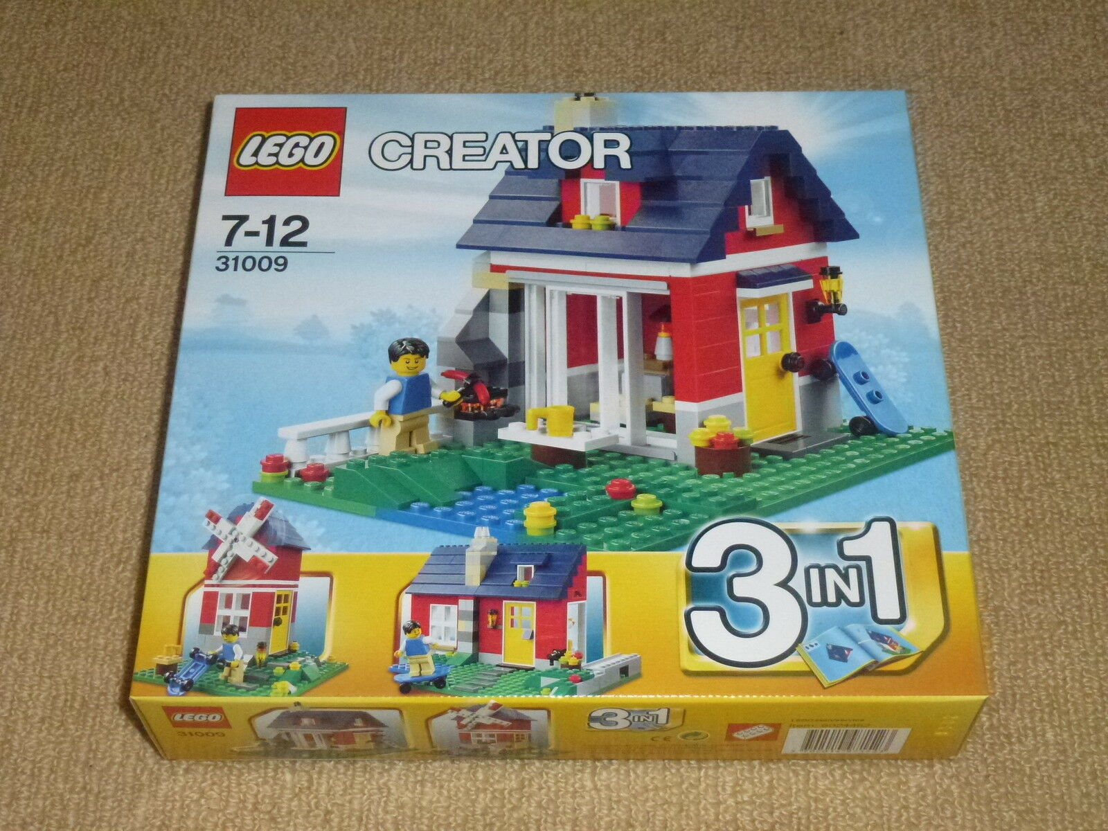 Lego Creator Small Cottage House New Sealed 31009 And Oolyri2495