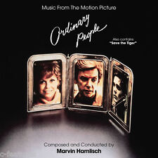 ORDINARY PEOPLE + SAVE THE TIGER Marvin Hamlisch CD La-La Land LTD ED SCORE New!