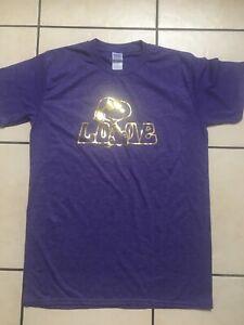 BN Ladies Purple Snoopy Love T-shirt Medium Size 10-12