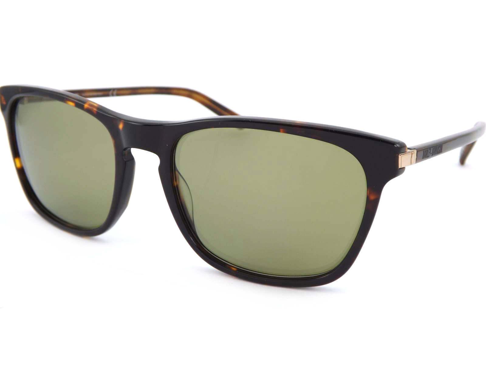 HARLEY DAVIDSON herren Sunglasses braun Tortoise  Grün Lens HD2019 52Q    | Verpackungsvielfalt