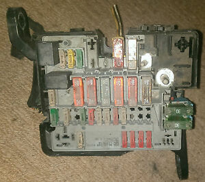 image is loading peugeot-206-fuse-box-incl-fuses-amp-relays-