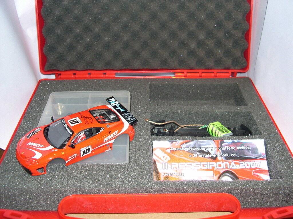 NINCO FERRARI 360 GTC 2 RESISGIRONA 2007 UFFICIALE DRIVER LIMIT.ED 36 UNITÀ MB