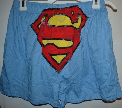 DC Comic Superman  BOXER W// GIFT BAG  SIZE S 28-30 XL40-42  NWT