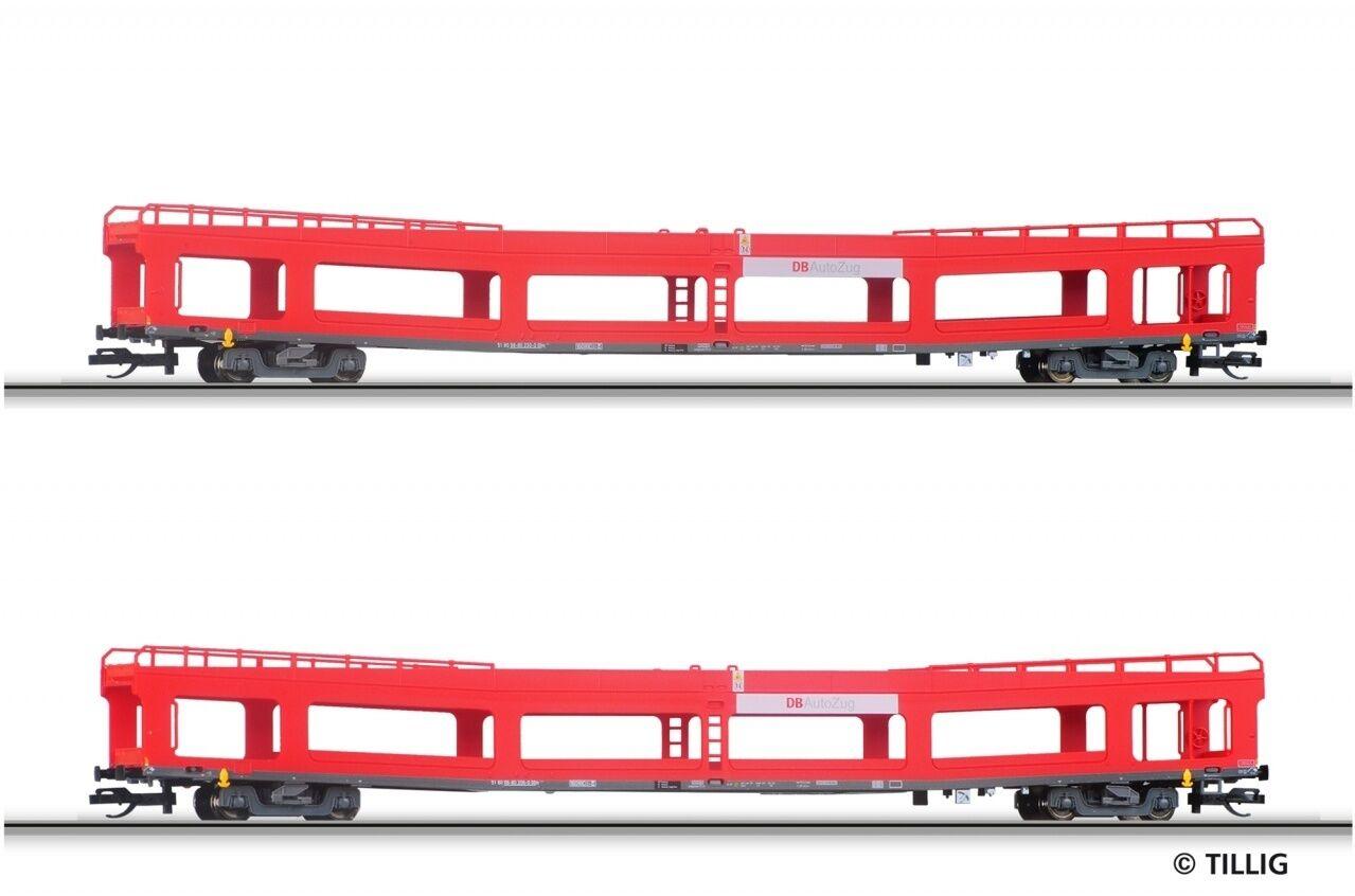 Tillig 01640 TT auto trasporto Wagenset DBAG EP V DDM 916 novità 2014 OVP +
