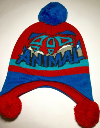 Animal INFANT  Knitted TIBETAN Beanie ONE SIZE NEW
