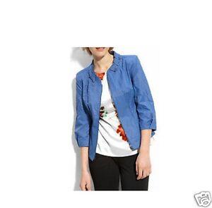 Tahari 8 taglia 149 Nwt Msrp Giacca 50 blu IqzCwnE