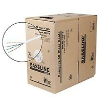 Steren 13914 Baseline Series 350mhz Cat5e Cable - White