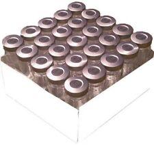 20ml Sterile Empty Clear Vials 25pk Silver