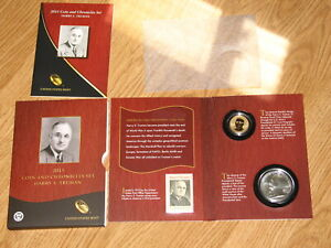US MINT HARRY S TRUMAN 2015 COIN AND CHRONOCLES SET BEAUTIFUL SILVER SET 2 COIN