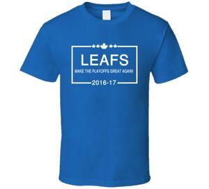 Toronto-Maple-Leafs-Hockey-Fan-Make-The-Playoffs-Great-Again-T-Shirt