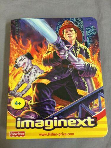 Fisher Price Imaginext personnage pompier//Firefighter NOUVEAU /& NEUF dans sa boîte Mattel 78336