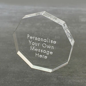 Personalised-Clear-Nonogon-Message-Keepsake-Birthday-Wedding-Anniversary-Gift