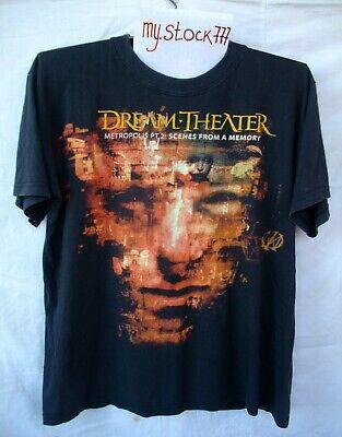 Dream Theater Metropolis Pt 2 Scenes From A Memory World Tour 2000 T Shirt Rush Ebay