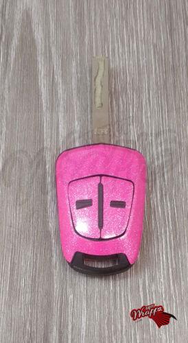 Pink Glitter Sticker Decal Vauxhall Astra Opel Corsa Vectra Meriva Tigra Zafira