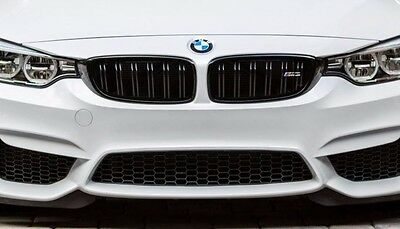 Genuine BMW M4 M Performance Black Kidney Grilles