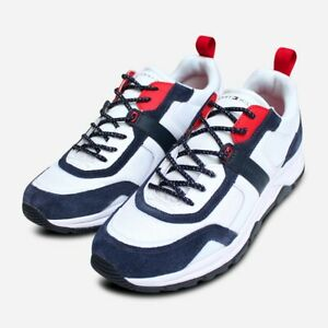 check out recognized brands newest collection Tommy Hilfiger Heritage Red White & Blue Mens Trainer | eBay