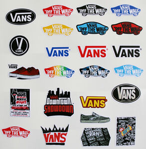 stickers vans