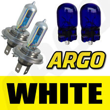 H4 XENON WHITE HEADLIGHT BULBS MITSUBISHI COLT EVO VITO