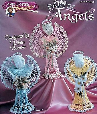 Crochet Pastel Angels  Patterns   Christmas Decor
