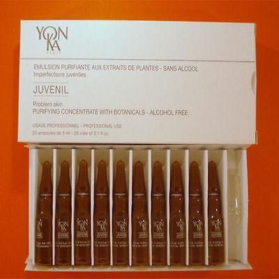 Yonka Juvenil Deep Acne Fluid 20 Vials X 3ml Each Prof BRAND NEW HOT PINK SONIC FACIAL CLEANSER