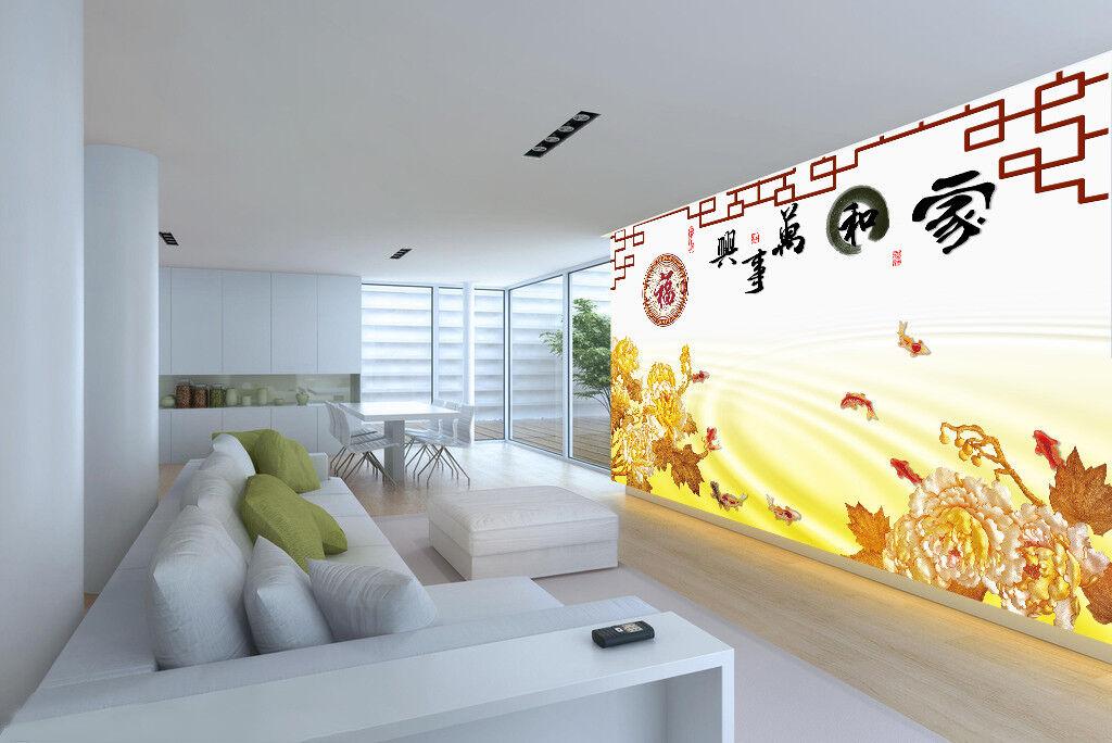 3D Harmonische Familie 74 Tapete Wandgemälde Tapete Tapeten Bild Familie DE  | Um Zuerst Unter ähnlichen Produkten Rang  | Wirtschaftlich und praktisch  | Preisreduktion