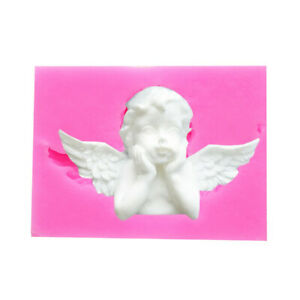 Silicone-Molds-3D-Angel-Baby-Shape-Fondant-Cake-Mold-Chocolate-Baking-Tools-New