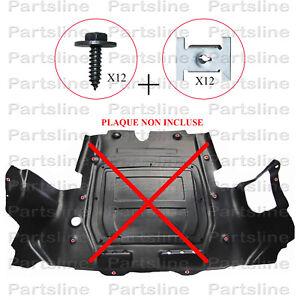 Kit-fixation-plaque-cache-moteur-OPEL-Astra-Corsa-Meriva-Zafira-Vectra-C
