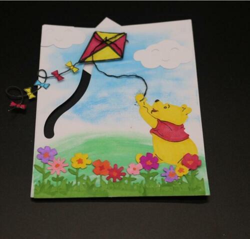 Animal metal cutting dies Little Bear scrapbooking DIY card making cutting dies