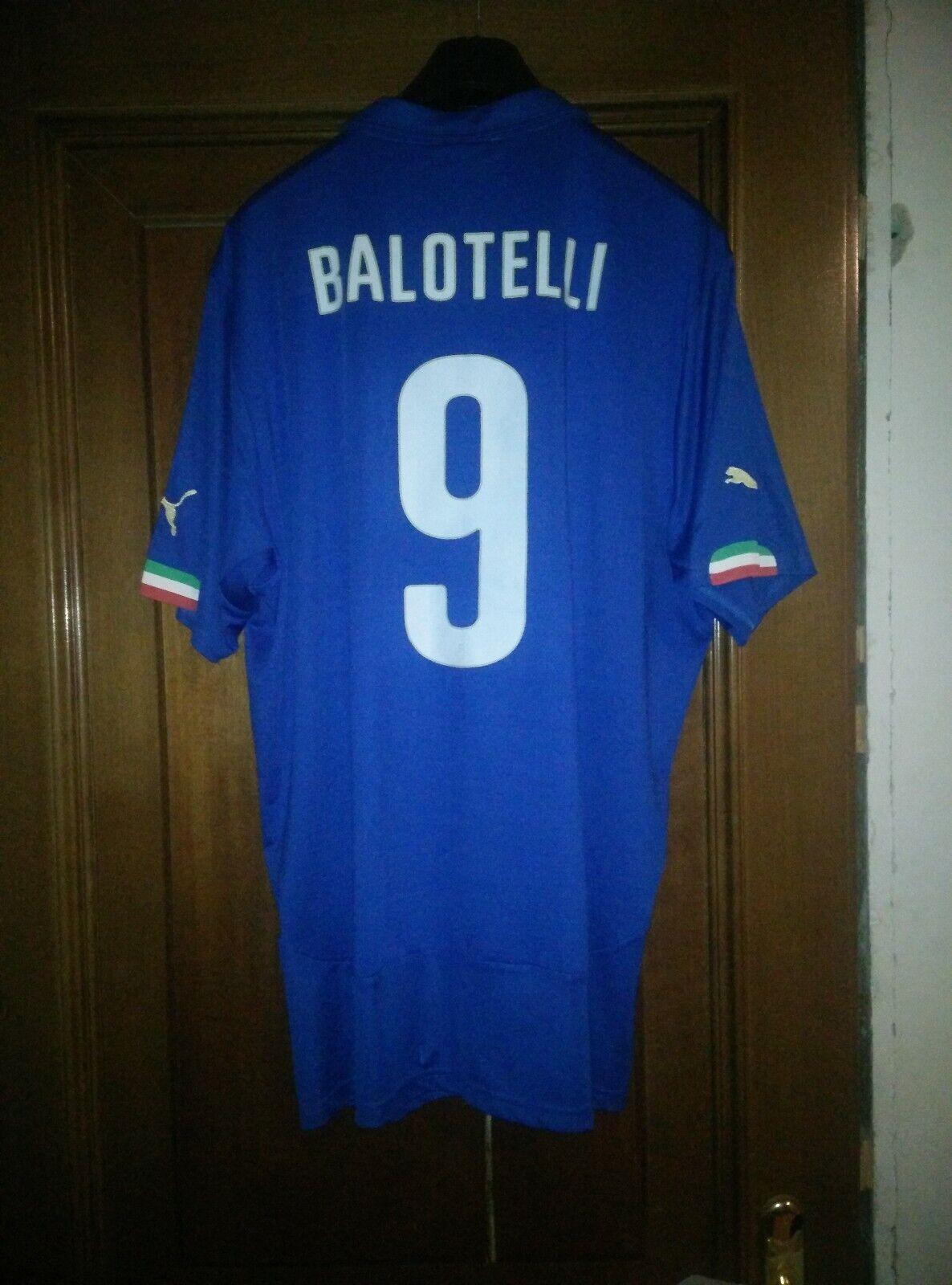 Maglia Originale Balotelli Italia Taglia XXL