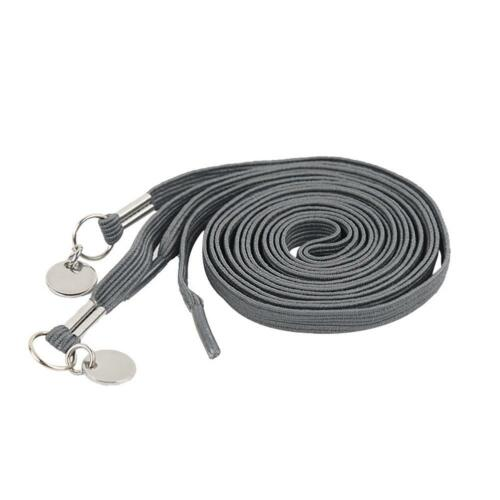 1x Elastic No-Tie Locking Lazy Shoelaces Shoe Laces With Buckles For Sport Shoes