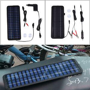 50W-20W-10W-8W-4-5W-12V-Car-Boat-Camping-Solar-Power-Panel-Battery-Caravan