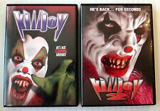Killjoy 1 & 2 ~ Rare OOP Horror DVD Lot ~ Killer Clown Movie ~ Scary Halloween