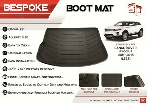 HEAVY DUTY BOOT LINER PROTECTOR FITS LAND ROVER Freelander Range Rover Evoque