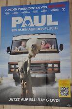 Filmposter Filmplakat A1 DINA1 - Paul Ein Alien auf der Flucht - Simon Pegg -Neu
