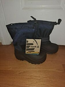 Kamik Snow Boots Youth 8 Brand New