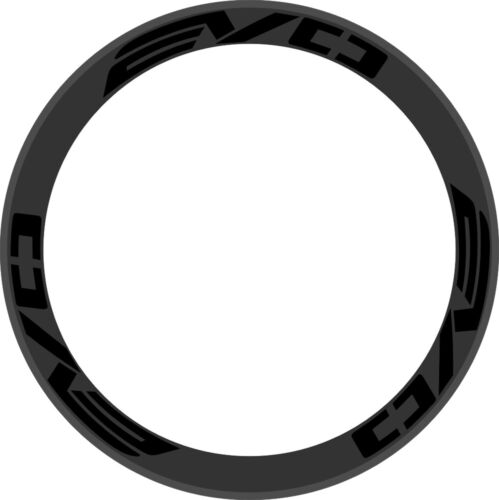 EVO Carbon Wheel Rim Stickers Cyclig Decals Road Bike Bicycle For 2 Wheels 700C
