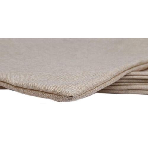 10 x Leinen Sublimation Blank Throw Kissenbezug Kissenbezug für DIY Hitzepresse