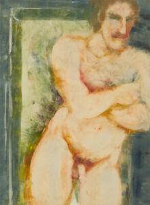 Inge Clayton FRSA (1942-2010) - Signed 1989 Monotype, Yurt
