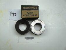 "NEW Hardinge S26 Round Smooth Collet Pad Set 11//32/"""