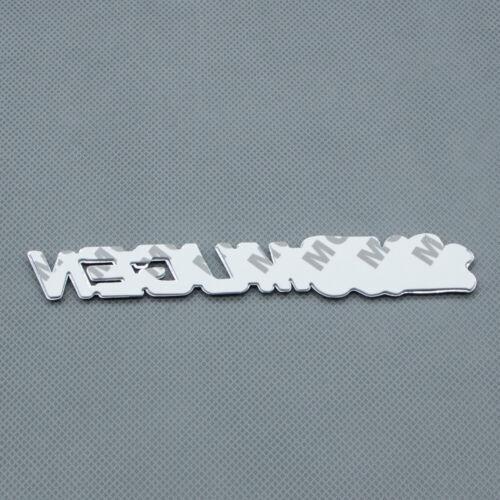 3D Chrome Red Coated Rear Lid Metal MUGEN Badge Side Fender Sport Emblem Sticker