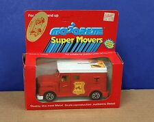Majorette 3023 1:36 Armored Security Piggy Bank Truck MIB 1984 France Red Nice!