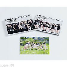SNSD GIRLS GENERATION THE BEST First Press Limited Edition CD DVD PHOTOBOOK NEW