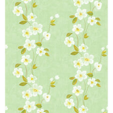 Vintage Contact Paper Floral Wallpaper Idea Wall Covering for Living Rooms