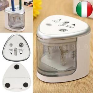 TENWIN-2-Fori-Automatica-Temperamatite-Elettrico-Adattatore-Temperino-Meccanico