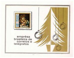 S18944) Brasilien Brazil 1969 MNH Neu Christmas S/S