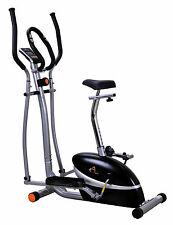 V-fit MCCT-1 Magnetic 2-in-1 Cycle Elliptical Cross Trainer r.r.p £300