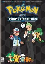 Pokemon: Black and White Rival Destinies - Set 1 (2 Disc) DVD NEW - 12 Episodes