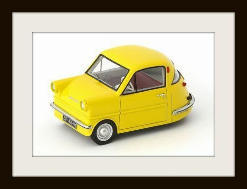 Wonderful modelcar SHELTER COUPE 1958 (NL) - Gelb - scale 1 43 - ltd.ed.333