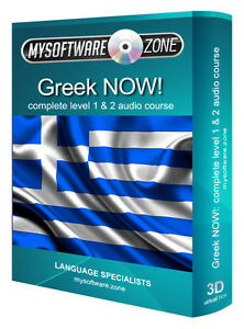 LEARN-SPEAK-GREEK-NOW-COMPLETE-LEVEL-1-2-AUDIO-LANGUAGE-COURSE-MP3-CD-GIFT-NEW