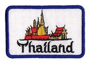Ecusson patche Thaïlande Thailand patch thermocollant transfert